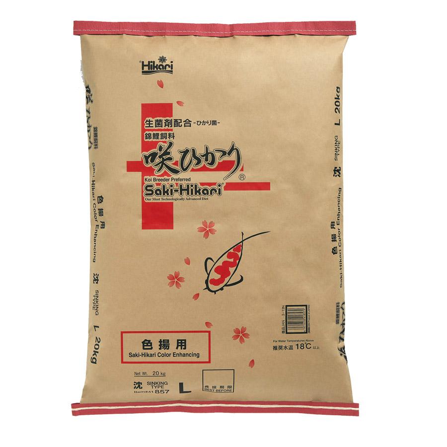 SAKI-HIKARI COLOR ENHANCING  SINKING  L  20KG